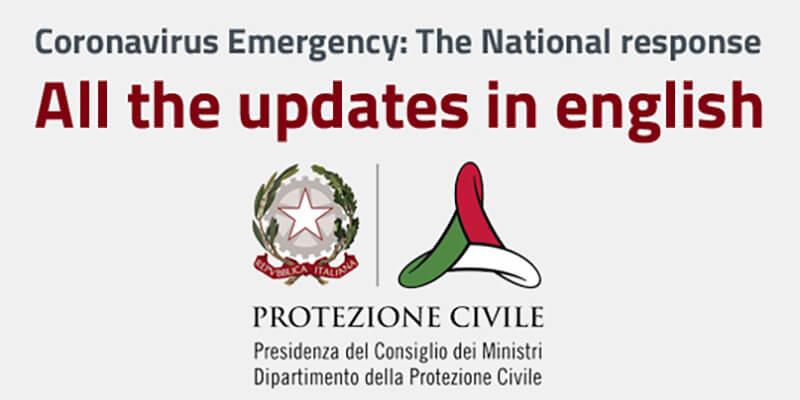 Coronavirus Emergency in english