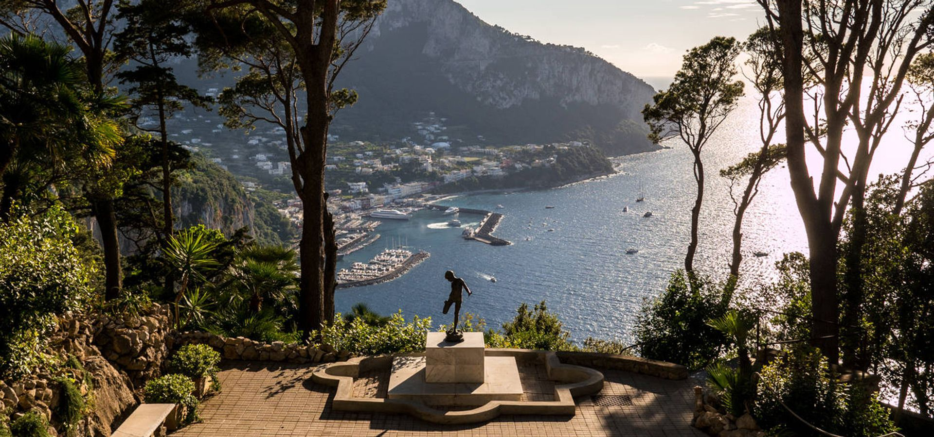 From Naples to Capri
