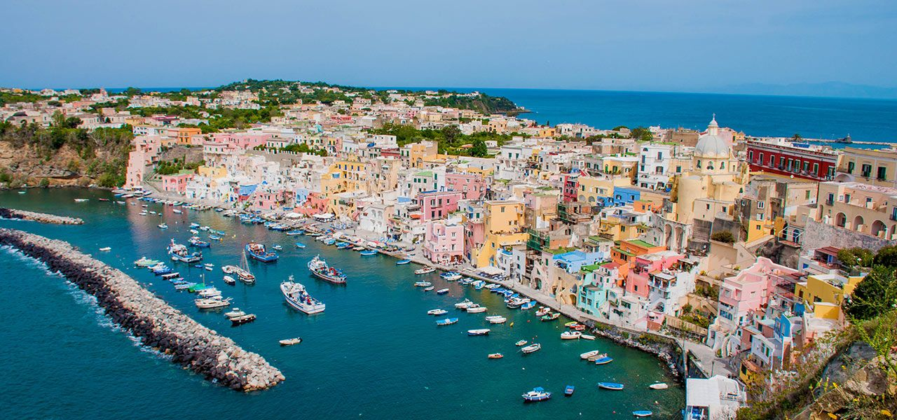 A trip to Procida and Ischia